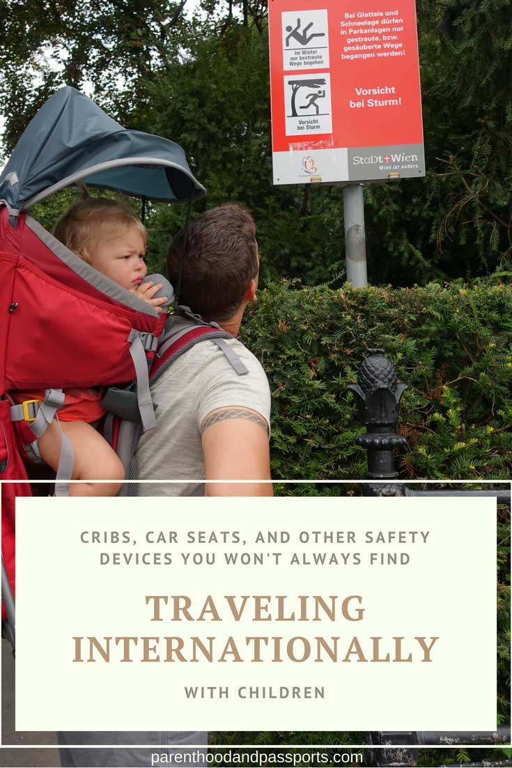 Parenthood and Passports - traveling internationally with a baby or toddler
