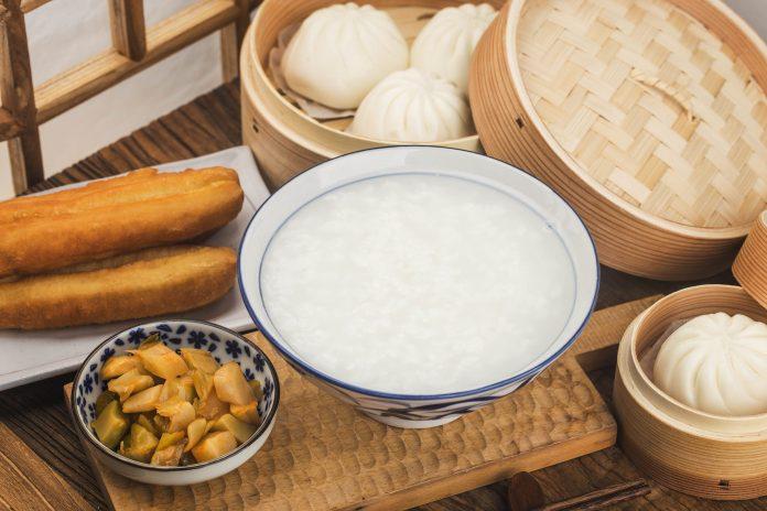 Chicken and Mushroom Congee