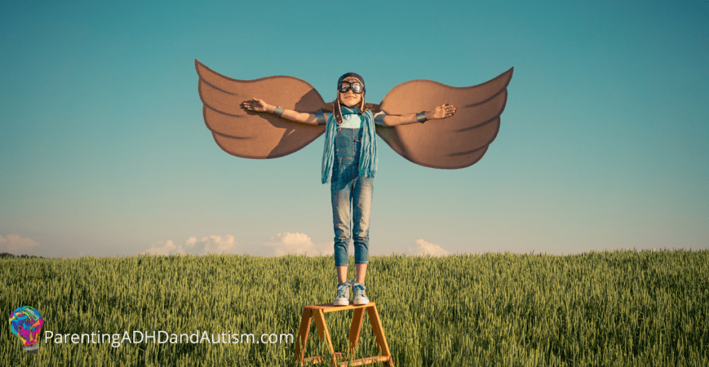 Give your child roots and wings, even with ADHD, autism