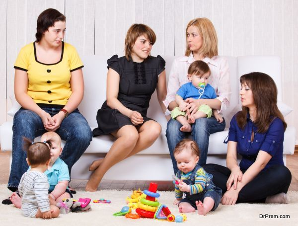 Women and their children