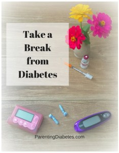 ParentingDiabetes.com 6 234x300 Take a Break from Diabetes and Have Fun and Manage Stress