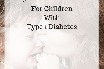 How to Decrease Pain for Children with Diabetes