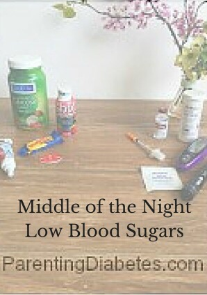 middle of the nightlow blood sugars 1 Kids with Diabetes and Night time Low Blood Sugars