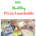 Save money on kids lunches! DIY Pizza Lunchables