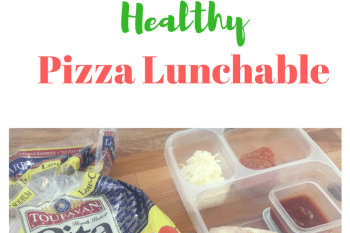 DIY Pita Pizza Lunchable
