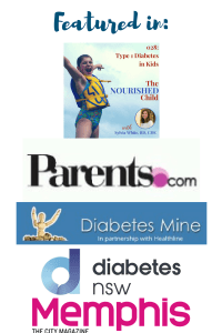 Sylvia White, RD CDE, ParentingDiabetes.com, featured in DiabetesMine, Parents.com, diabetes council, Insulet, JDRF, Nourished Child,
