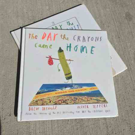 best books for a spirited child The Day the Crayons Came Home
