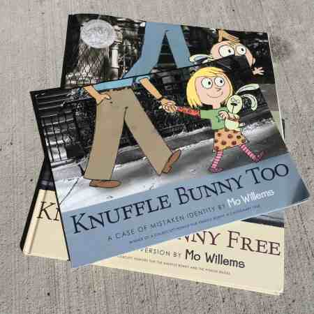 best books for a spirited child Knuffle Bunny Too