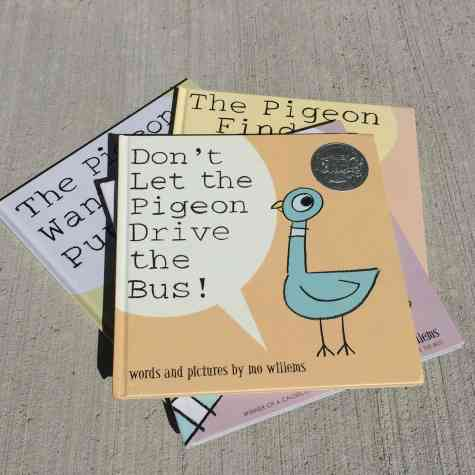 The BEST books for a spirited child include Don't let the pigeon drive the bus