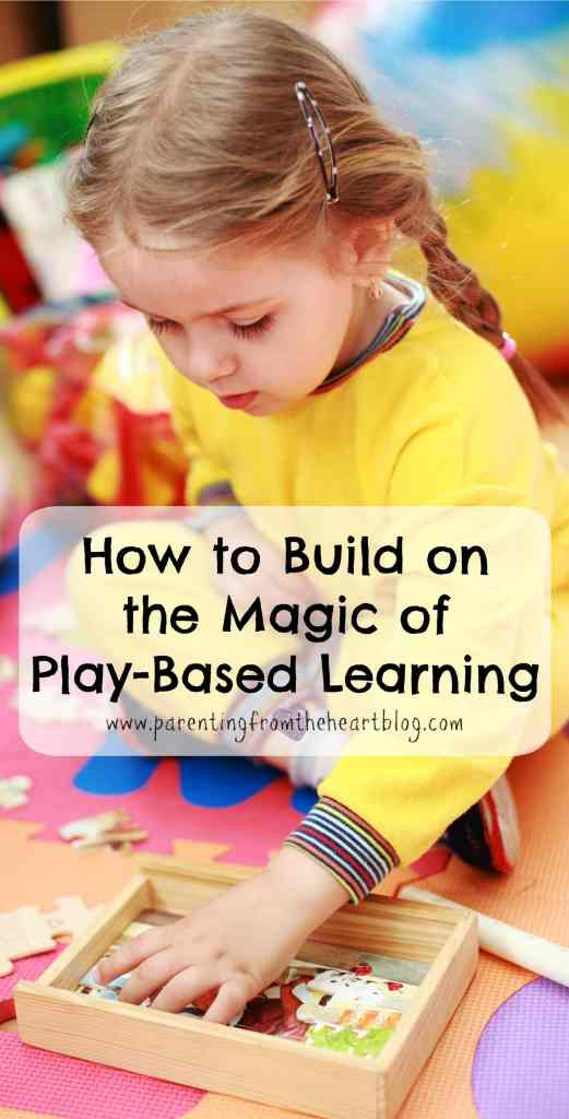 There is so much information about the importance and value of play and play-based learning. As a parent, how do we build on our child's play and are there things that can hinder the magic of play-based learning?