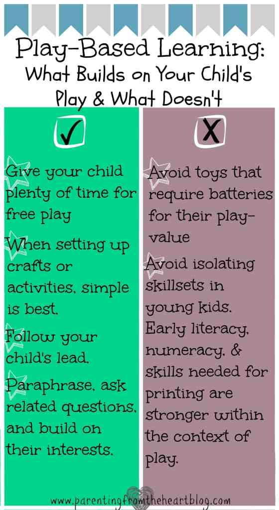 What builds and what breaks play-based learning find out more by clicking this infographic and reading the post.