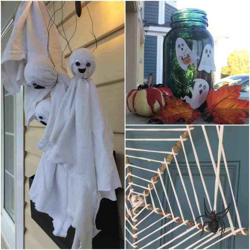 Make easy, inexpensive DIY Halloween decor your kids can help with too! This DIY Halloween deco