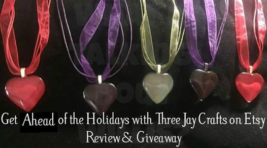 Three Jay Crafts Heart Pendant Necklaces | Parenting Healthy