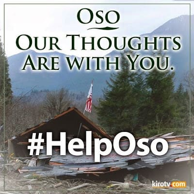 Helping Oso Landslide victims
