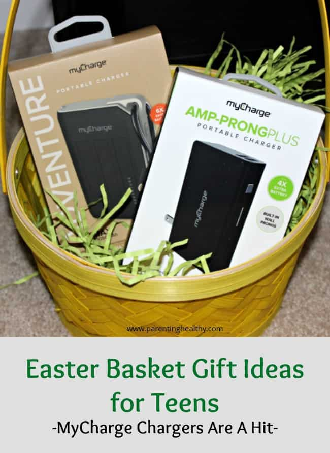 Easter Basket Gift Ideas for Teens - MyCharge Chargers Are A Hit