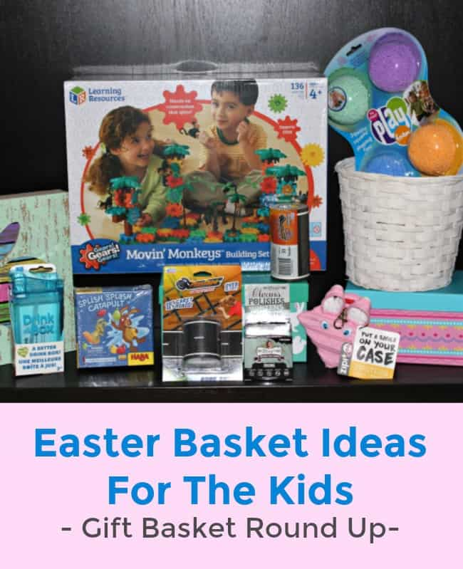Easter Basket Ideas For The Kids - Gift Basket Round Up