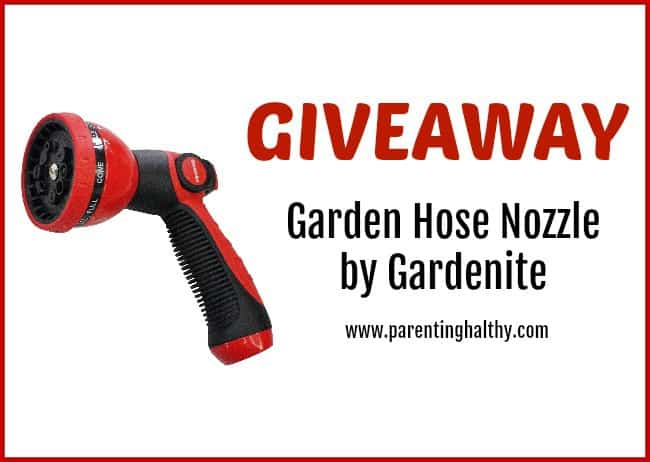 Garden Hose Nozzle by Gardenite Giveaway