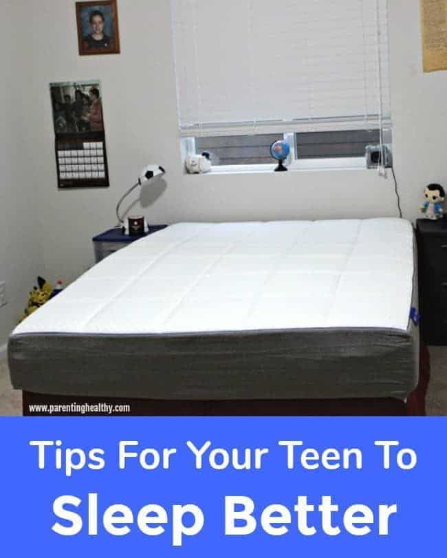 Tips For Your Teen To Sleep Better - Nectar Mattress Giveaway