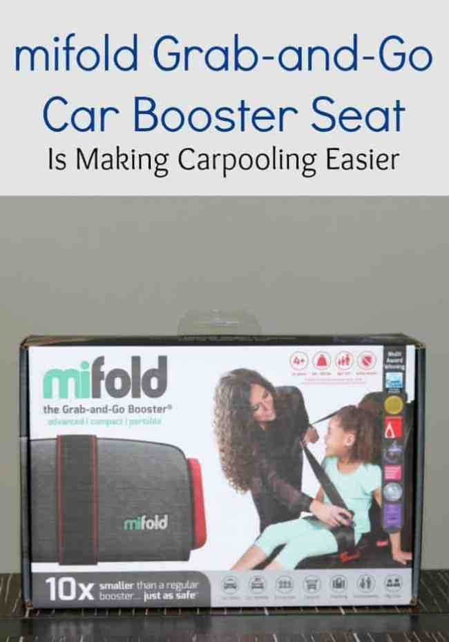 mifold Grab-and-Go Car Booster Seat Is Making Carpooling Easier