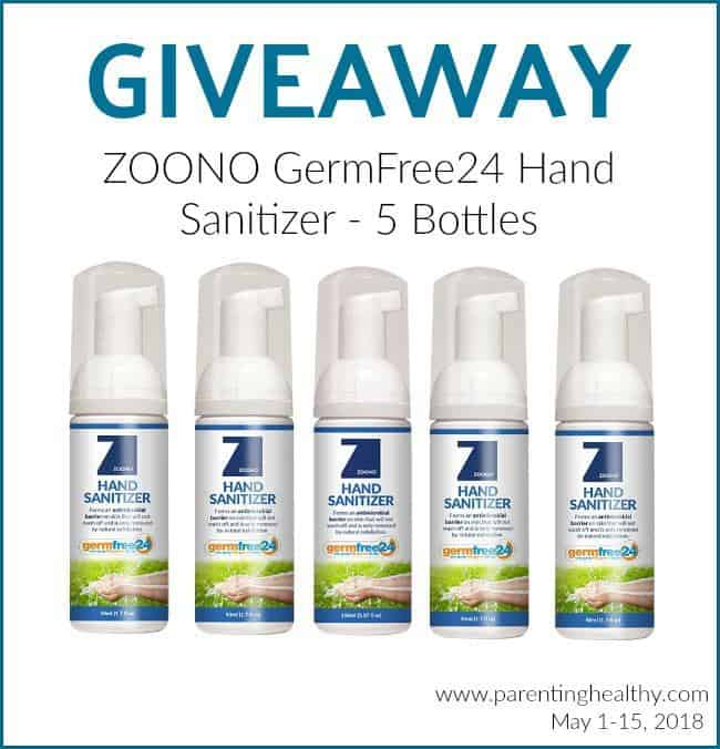 Stay Germ Free as You Travel This Summer with Zoono GermFree24 - Giveaway