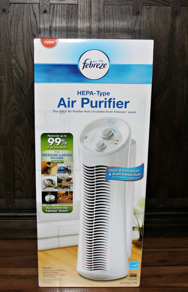 Celebrating National Clean Up Your Room Day with Febreze Tower Air Purifier