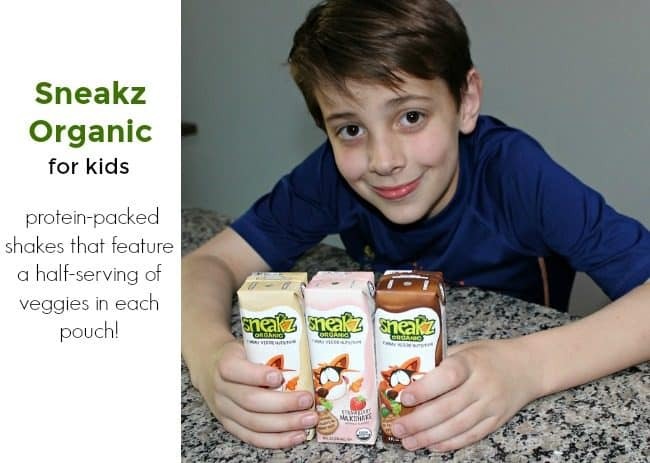 Healthy Snacks for Kids with Sneakz Shakes and Powders