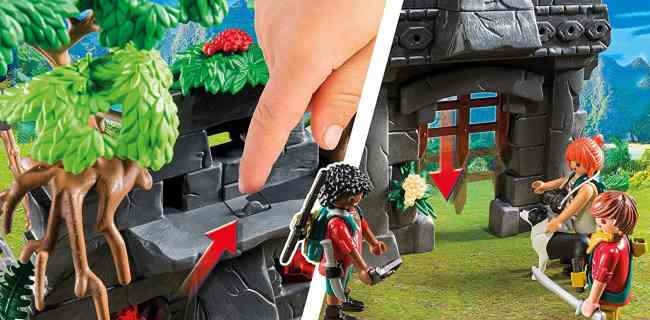 Jurassic Fans Will Love the PLAYMOBIL Hidden Temple with T-Rex Building Set