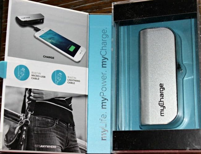 MyCharge HubMini Portable Charger - Giveaway