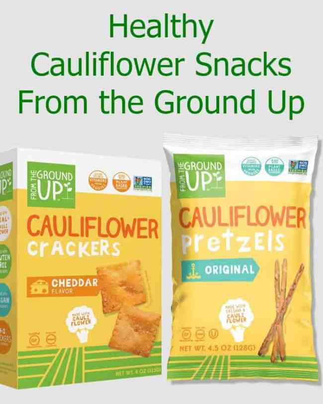 Healthy Cauliflower Snacks From the Ground Up