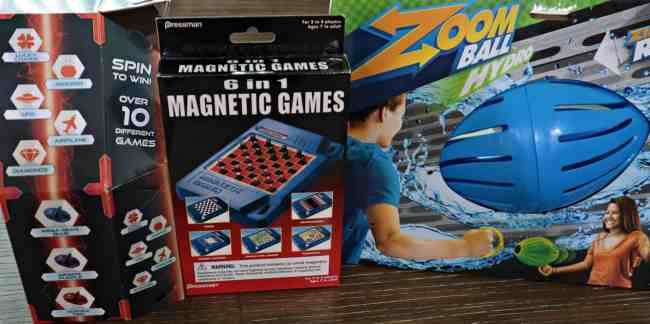 Fun Toys to Camp with from Goliath Games and Pressman Toys