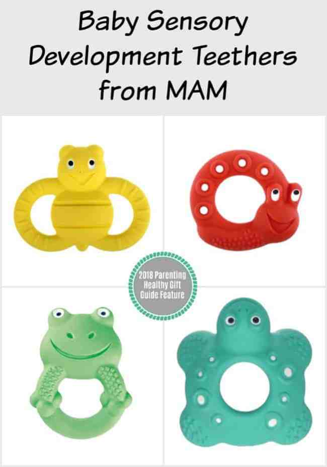 Baby Sensory Development Teethers from MAM
