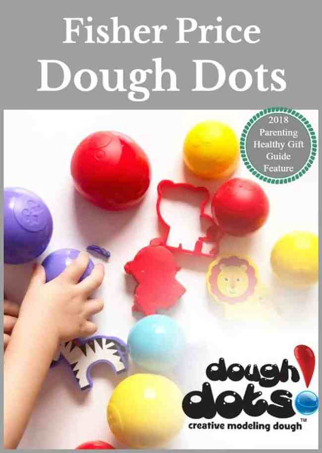 Fisher Price Dough Dots incorporates the packaging as part of the play
