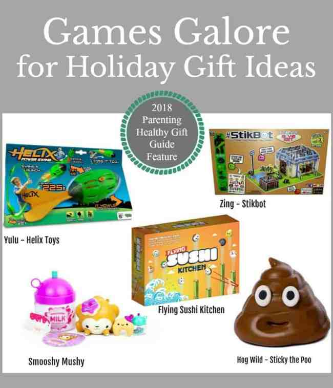 Games Galore for Holiday Gift Ideas