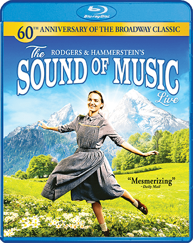 The Sound of Music LIVE on Blu-Ray and DVD