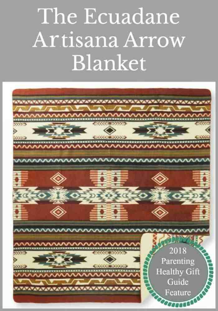 The Ecuadane Artisana Arrow Blanket
