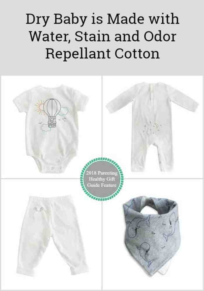 Dry Baby is Made with Water, Stain and Odor Repellant Cotton