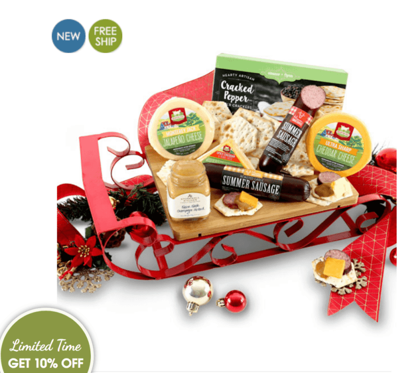 Last Minute Gift Giving with GourmetGiftBaskets.com