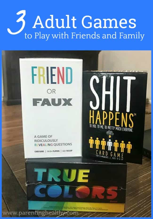 3 Adult Games to Play with Friends and Family