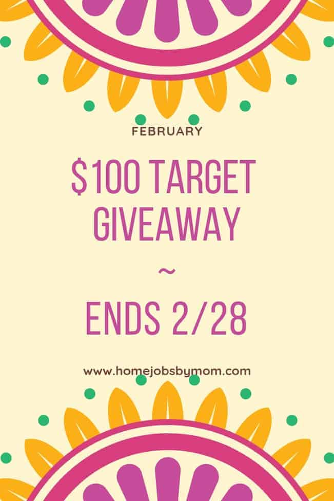 $100 Target Gift Card Giveaway (2019)