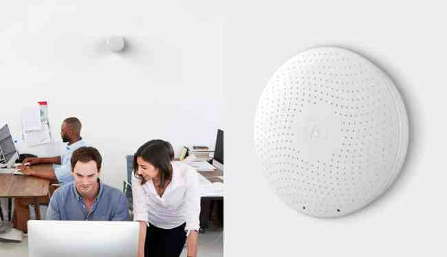 Airthings Wave Plus indoor air quality smart monitor with Radon detection