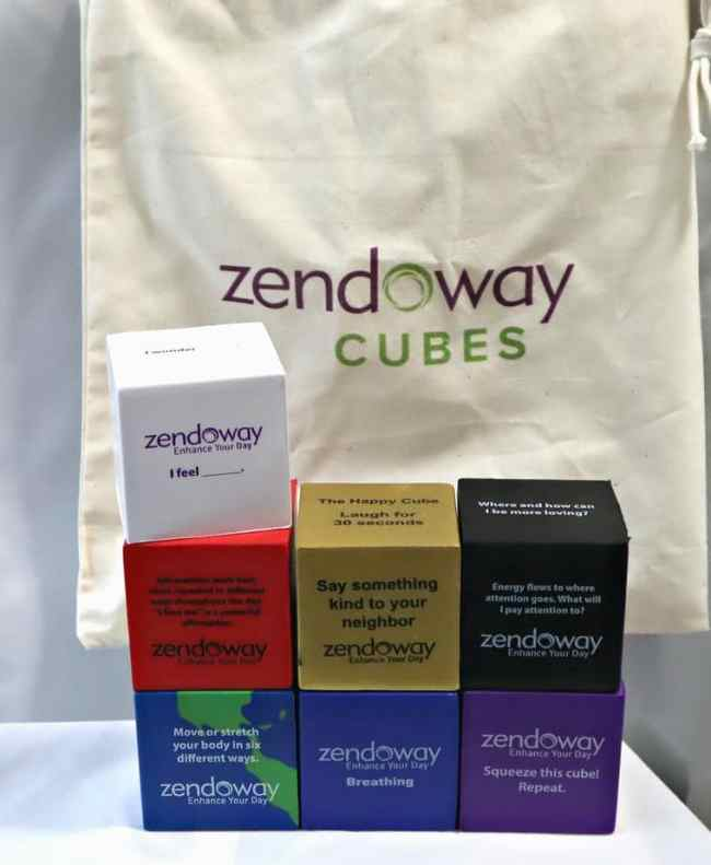 Zendoway Cubes: Relaxation and Stress Management Tools
