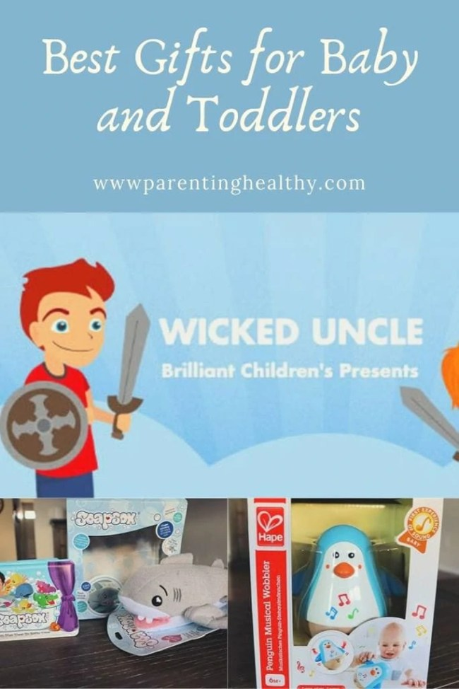 Best Gifts for Baby and Toddlers at Wicked Uncle