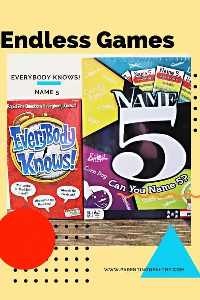 Name 5 and Everybody Knows! - 2 Games from Endless Games
