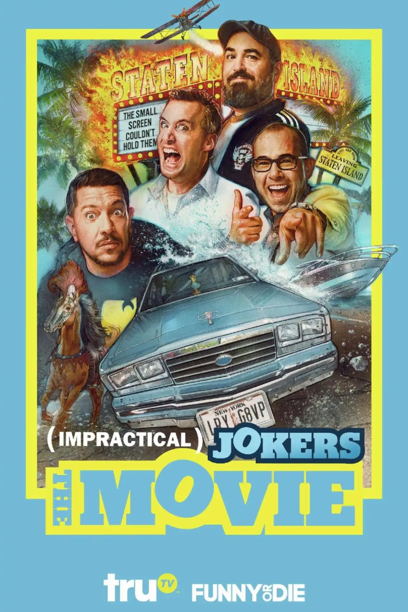 Impractical Jokers: The Movie is coming to Digital next week!