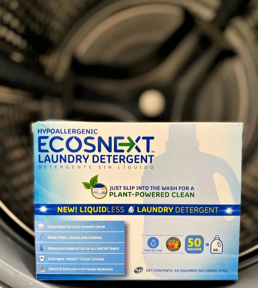 ECOS laundry Reduce Plastic Consumption