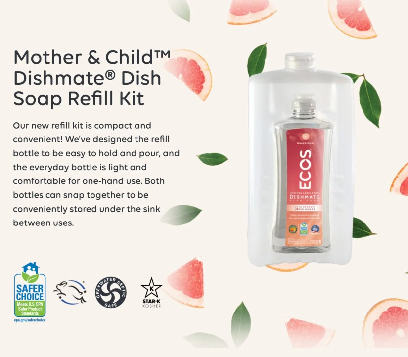 ECOS Mother & Child Packaging Allows You To Bulk Buy & Is Eco-Friendly