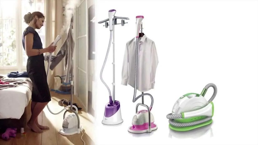 Fabric Steamer versus Ironing