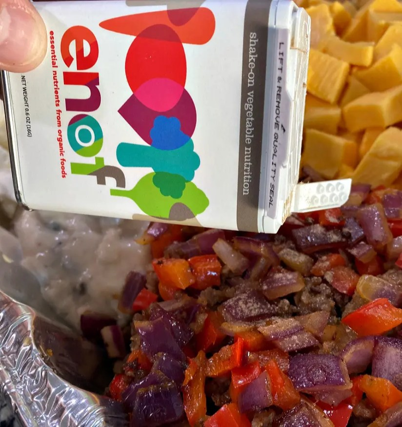 ENOF shake-on vegetable nutrition