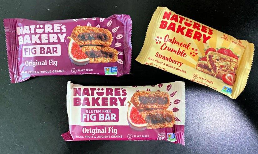 Nature's Bakery Fig Bars Plant-Based Snack Bars