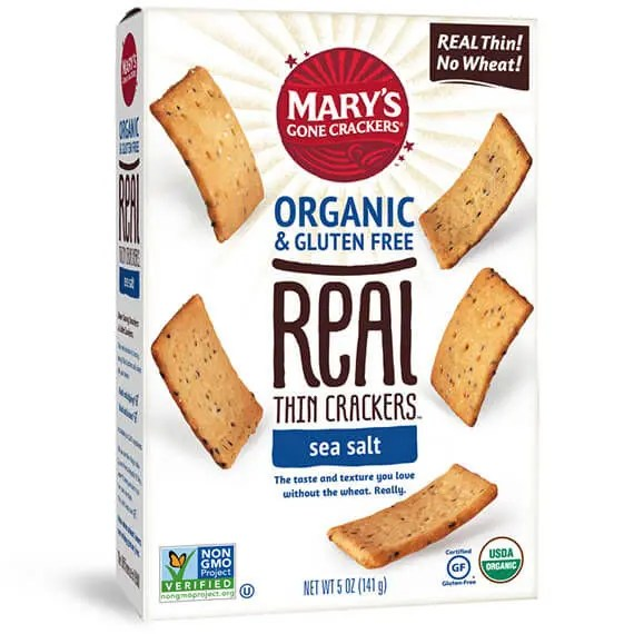 Real thin crackers